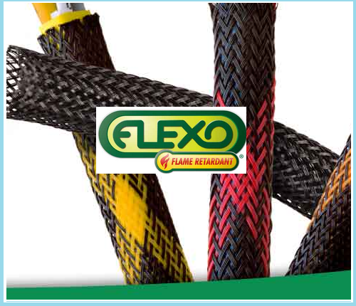 Flexo FR Sleeving - Ideal for Electronic Applications