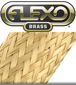 "MBB0.13BRS Brass Braid  1/8"" 25FT"