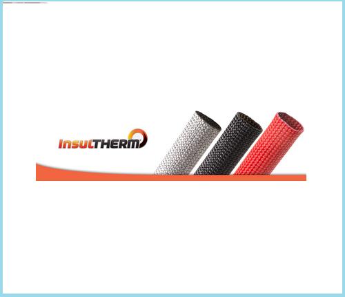 "Fiberglass FGN0.63BK 5//8/"" Black Insultherm 25 Ft Cuts"