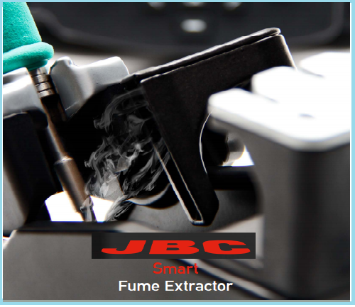 JBC FAE2-5AC Fume Extractor for a JBC Single Station