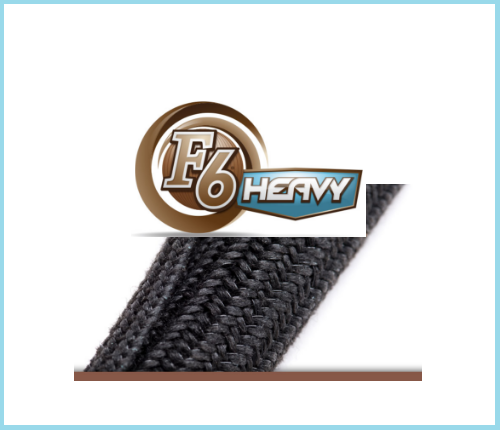 "Dura F6 HEAVY 3/8"" - 1200FT. Black"